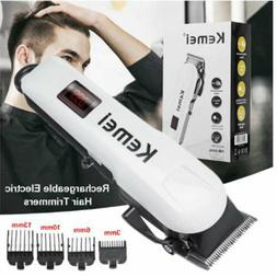 Electric Shaver Rechargeable Hair Trimmer LCD Display Shavin