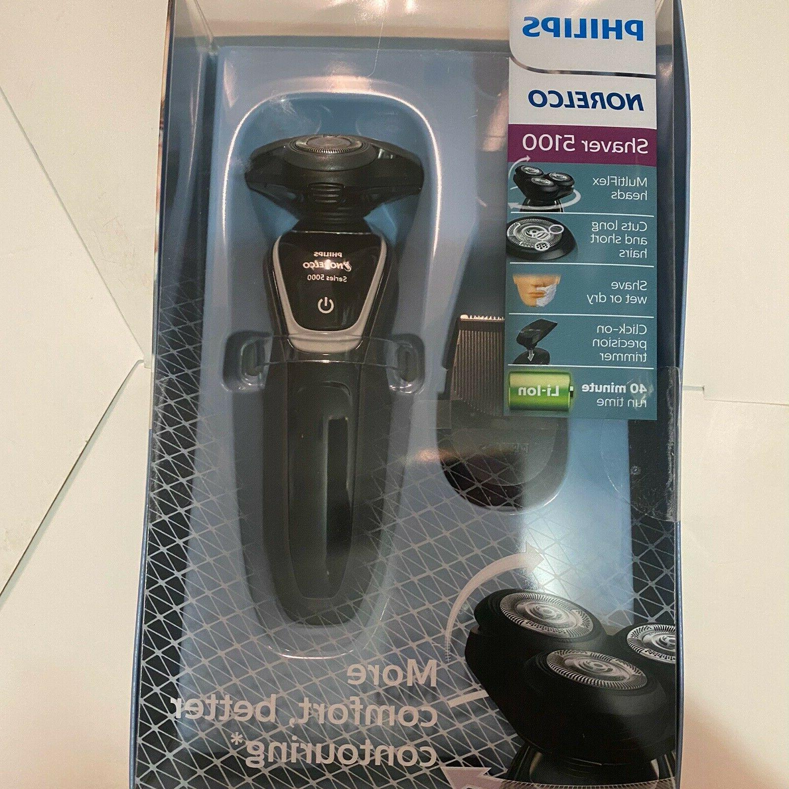 Philips Norelco - 5100 Wet/dry Electric Shaver - Charcoal Gr