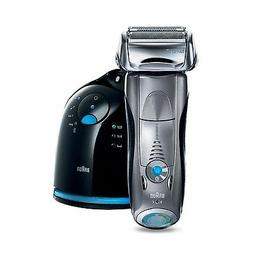 Men's Electric Foil Cordless Shaver with Clean & Charge Stat