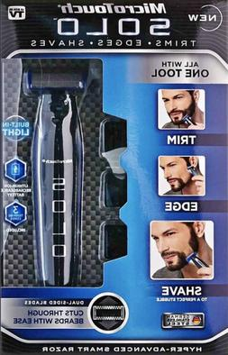 NEW SOLO MicroTouch Men's Rechargeable Full Body Hair Trimme