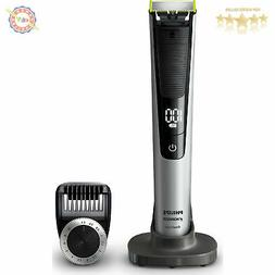 Philips Norelco OneBlade Pro hybrid Rechargeable trimmer & s