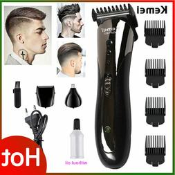 Professional Hair Clippers Trimmer Kit Hair Cutting Machine