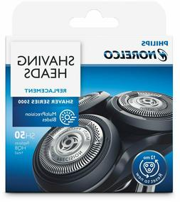 Philips Norelco SH50 Replacement Shaving Heads NEW Sealed