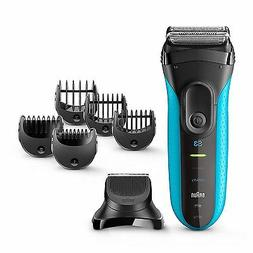 Braun Series 3 3-in-1 Men Electric Cordless Wet & Dry Shaver