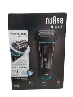 BRAUN Series 5  Wet and Dry Electric Foil Men's Shaver 5140s